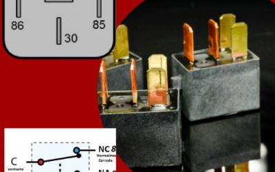 Funcion del relevador en bloqueos de motor