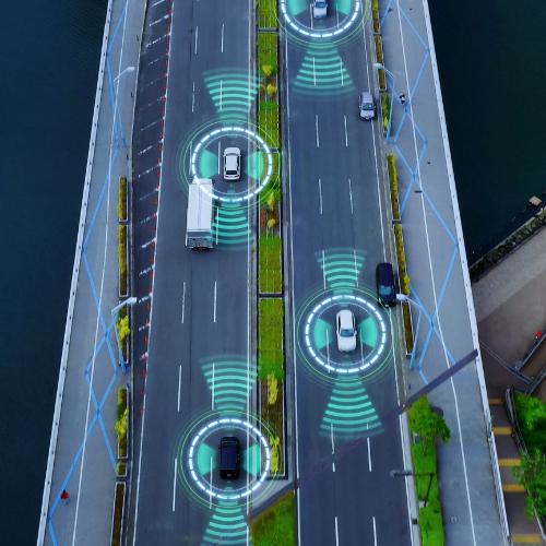 Prevención de accidente por invasión de carril